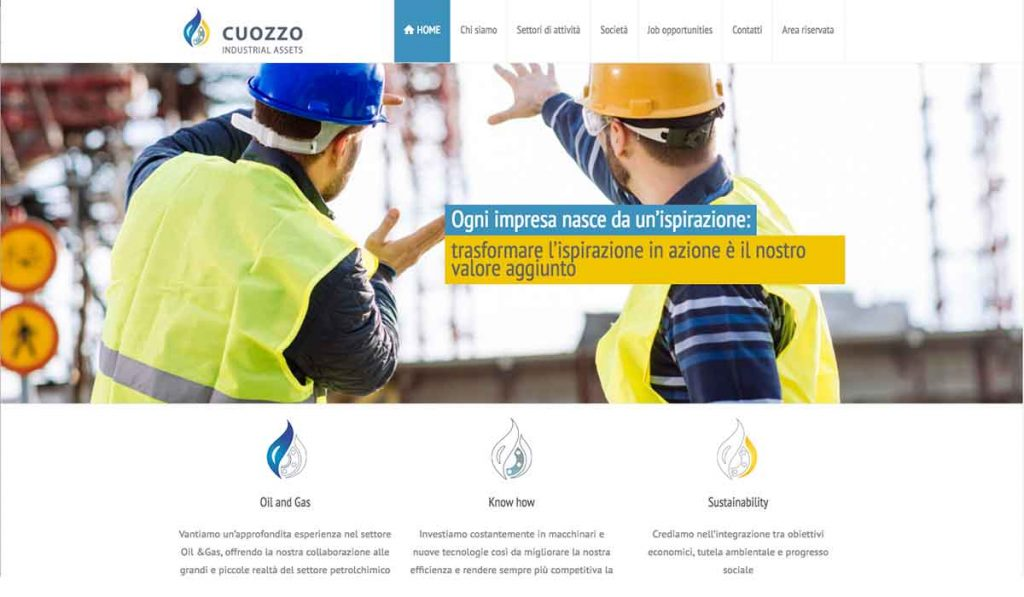 Cuozzo-industries-website